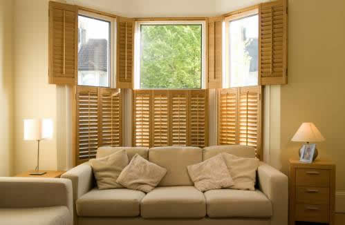 Traditional Wooden Shutters