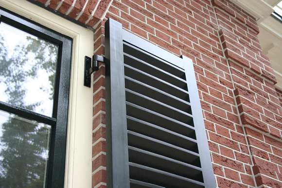 Image Result For Exterior Wood Shutters